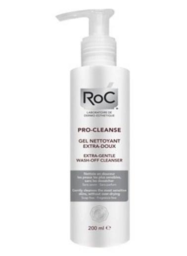 Roc Roc Pro Cleanse Extra Hassas Temizleyici Yüz Yıkama Jeli 200 ml Renksiz